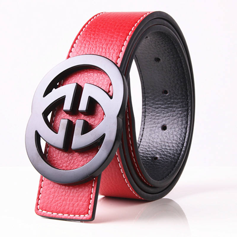 Factory high quality belt gg custom leather with best service and low price
