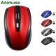 Animuss USB Wireless mouse 1200 DPI Adjustable USB 3.0 Receiver Optical Computer Mouse 2.4GHz Ergonomic Mice For Laptop PC Mouse