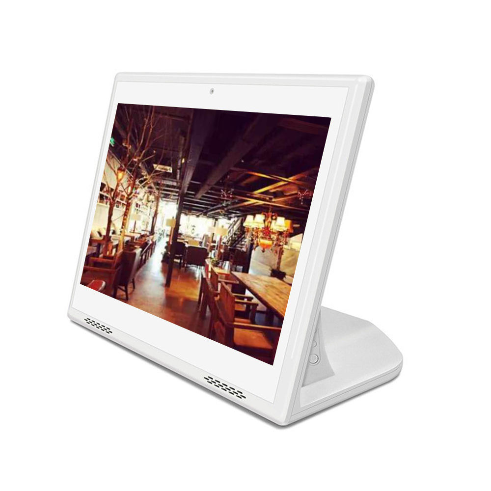 Reclame Speler Type L 10 Inch 1280 * 800IPS Touch Screen Android Tablet Met Ethernet Poort Wifi Rj45 Tablet Pc voor Restaurant