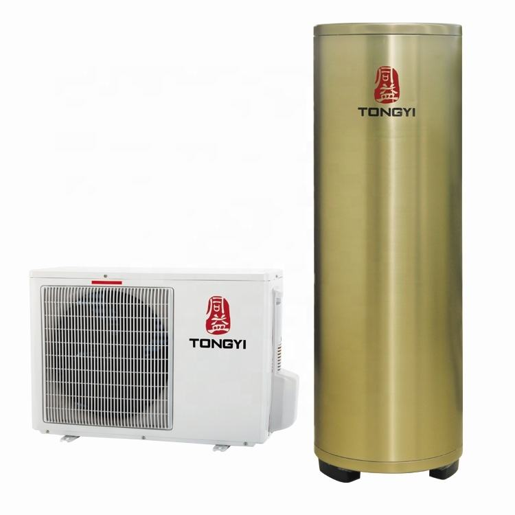 R417a Refrigerant Suhu Rendah Mini Split Heat Pump Water Heater
