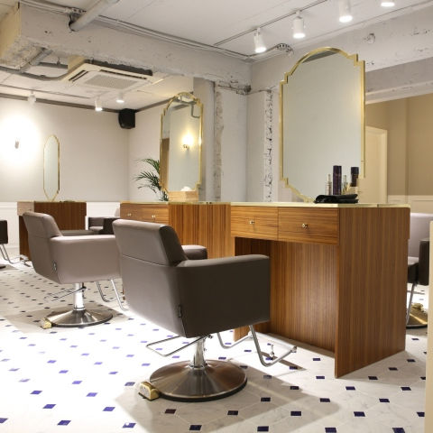 made in china hair salon furniture station / barber shop furniture for barber shop decoration