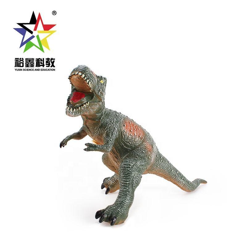 محاكاة كبيرة الديناصور ريكس لعبة ديناصور الملك مع الصوت