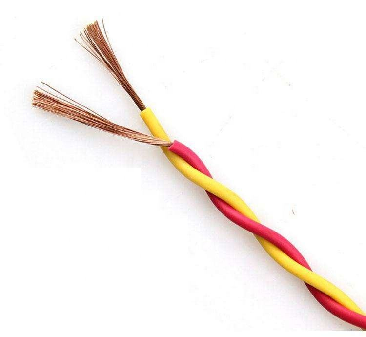 Hot sale 2 core PVC insulated RVS twisted pair flexible wire cables