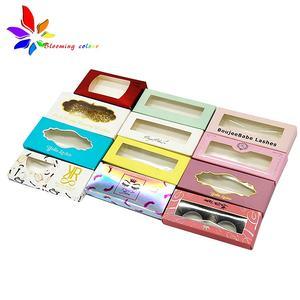 Best price Create your own lashes, mink eyelash, low moq custom eyelash box