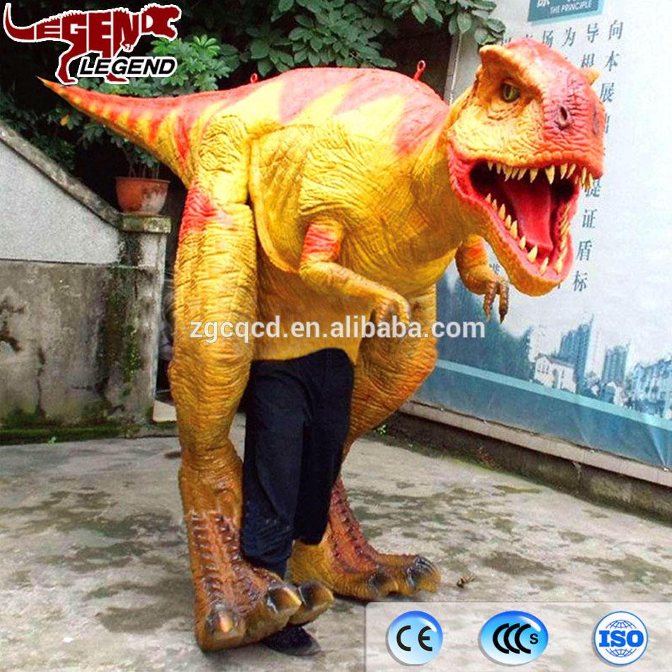 Heißer Verkauf Künstliche Animierte Erwachsenen Realistisch Dinosaurier Kostüm