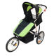EN1888 three-wheel foldable baby stroller with suspension