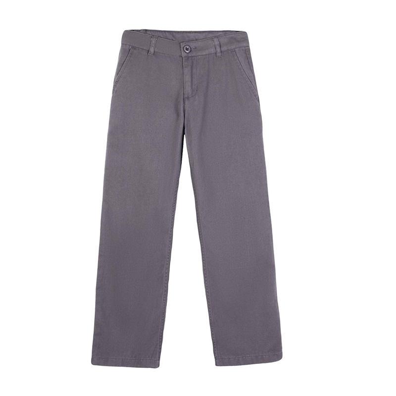 Boys School Uniform Flat Front Pants A