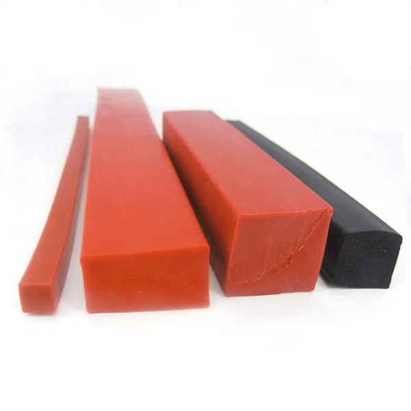 Square Shape solid Silicone Rubber Seal Strip