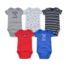 Online Shopping 100% Cotton Infant Clothes Newborn Baby Romper For Wholesale