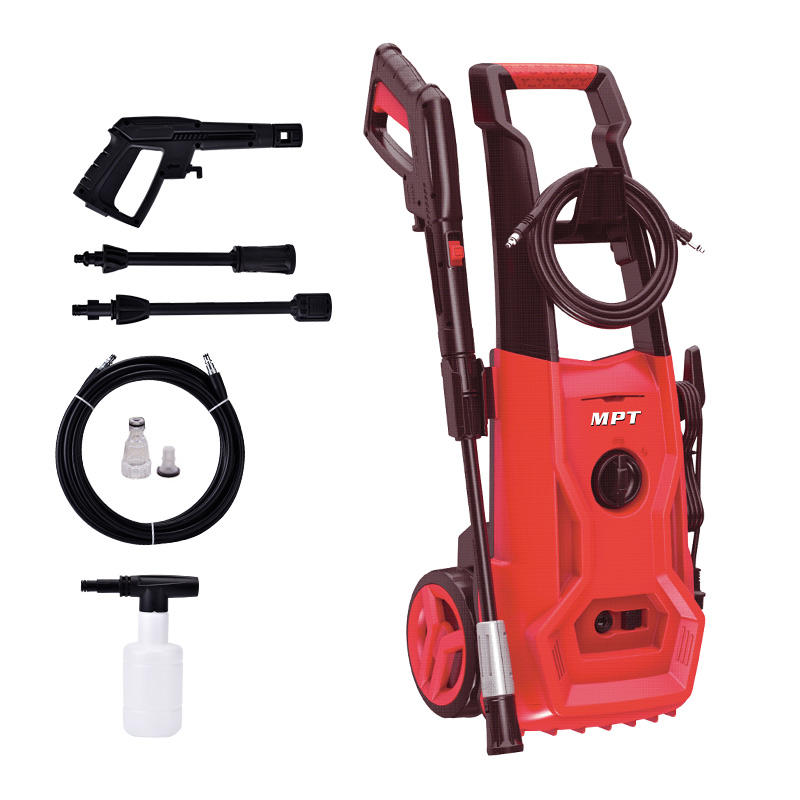 MPT 1800W electric high pressure cleaner 140Bar high pressure washer