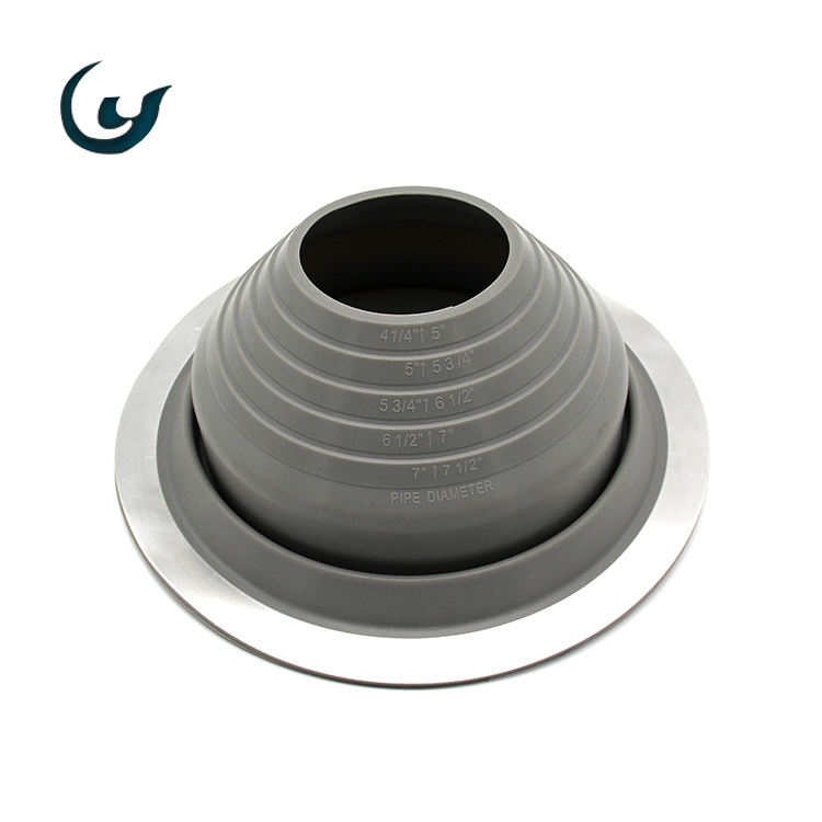 Wholesale Many Color EPDM/Silicon+Aluminum Pipe Boot Roof Flashing