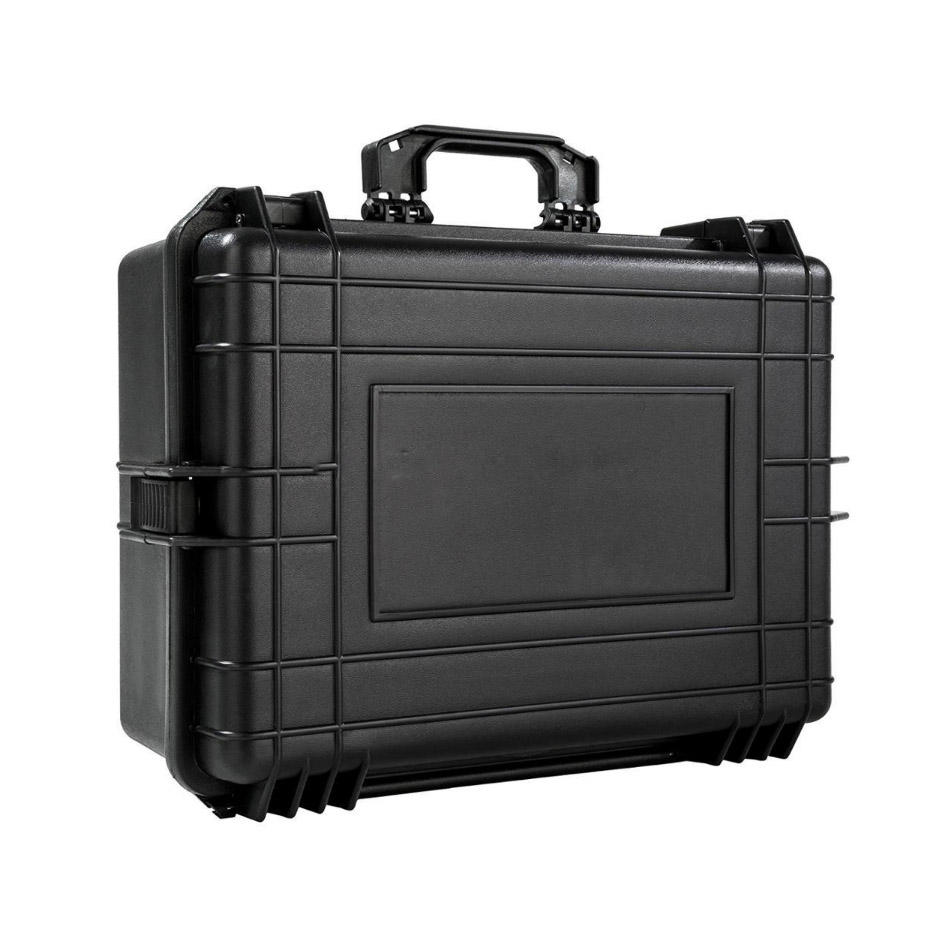hard plastic protective safety waterproof storage carry box camera equipment case with foam