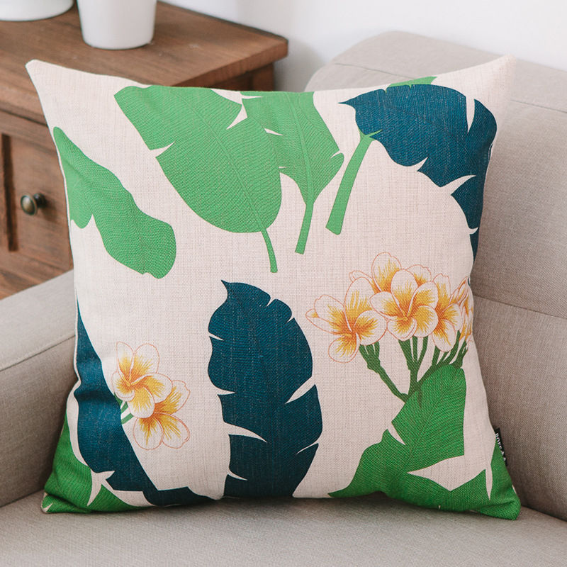 New Arrival Home Textile Print Polyester Comforter Pillow Covers Cushion Covers Wholesale in Stock
