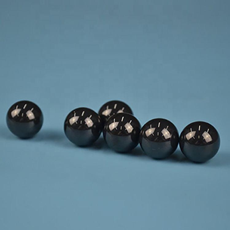 Longue durée de vie 8mm noir en céramique de nitrure de silicium polymère roulement à billes