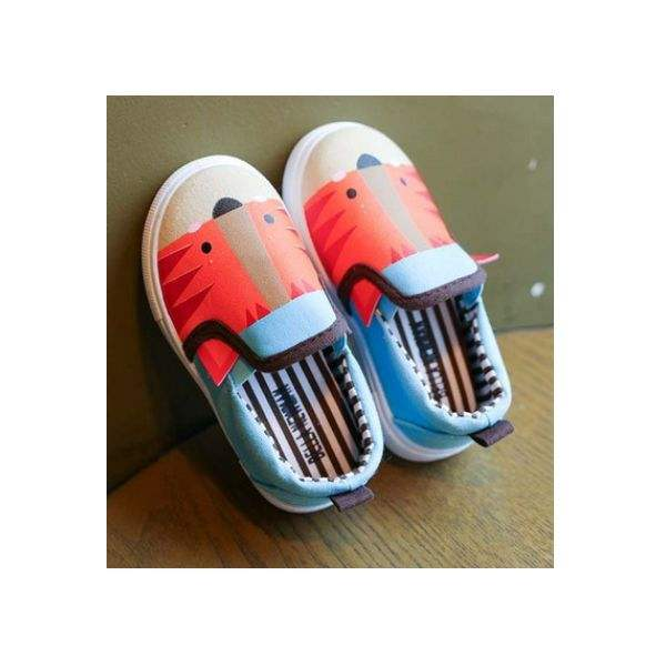 Soft Bottom kids canvas shoes slip-on kids girl shoes casual shoes kids