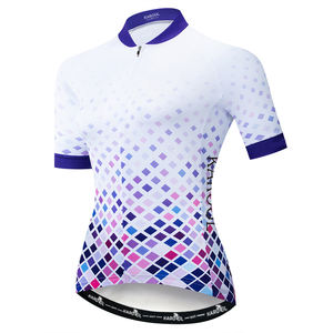 Karool Women's Sublimated Cycling Jersey Road Mountain Women Bicycle Wear