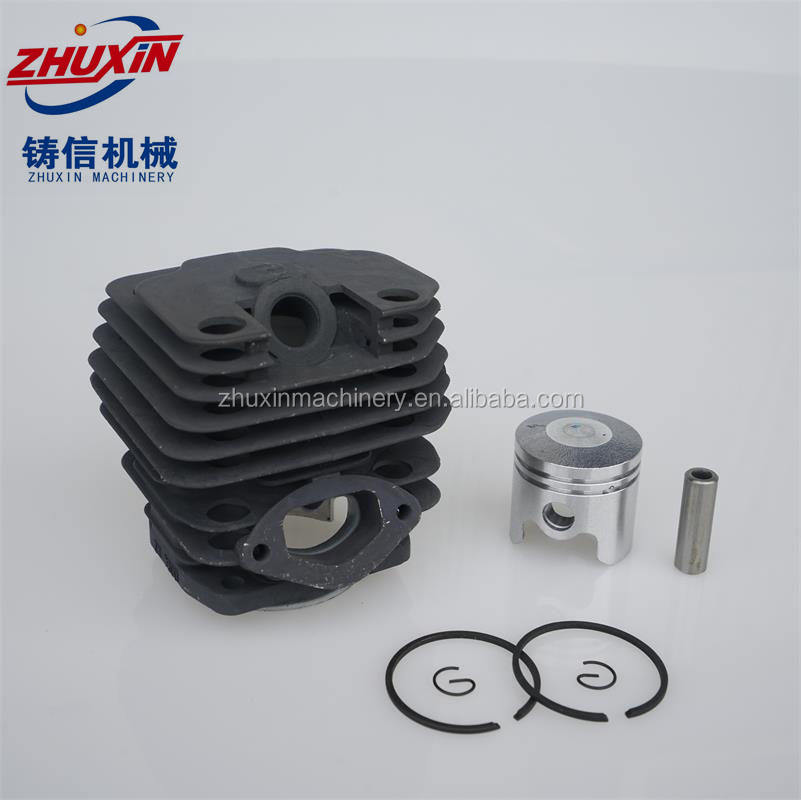 Factory 52cc 45mm Chainsaw Cylinder kit 1E45F Chainsaw spare part Match Komatsu Zenoah 5200 garden tool part