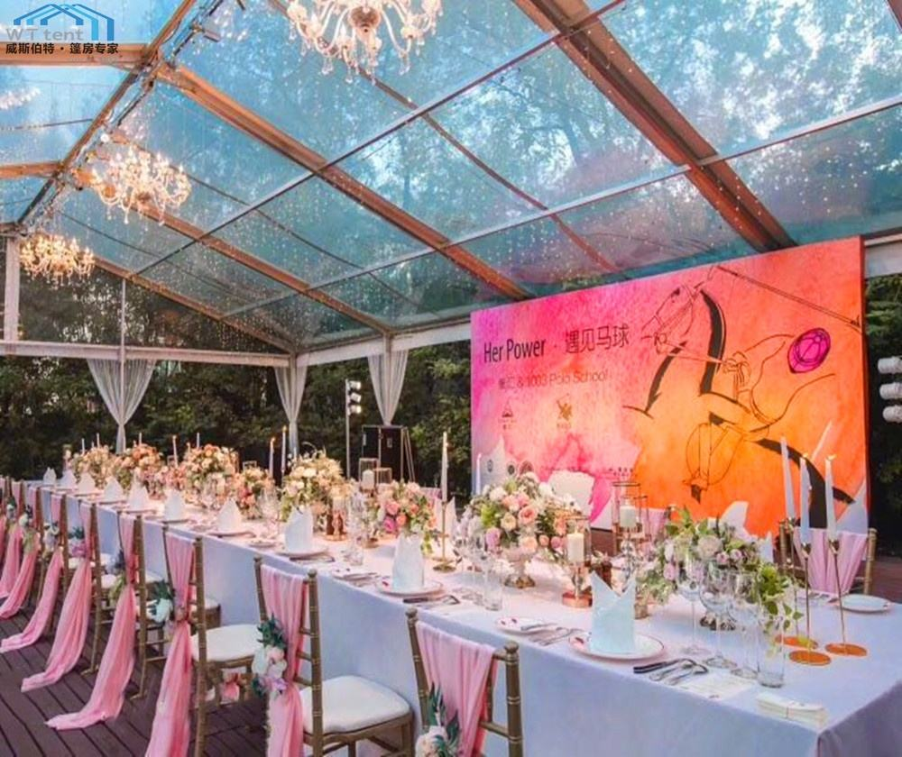 20x30m Size 500 People Durable Outdoor White lining decorations indoor wedding tents
