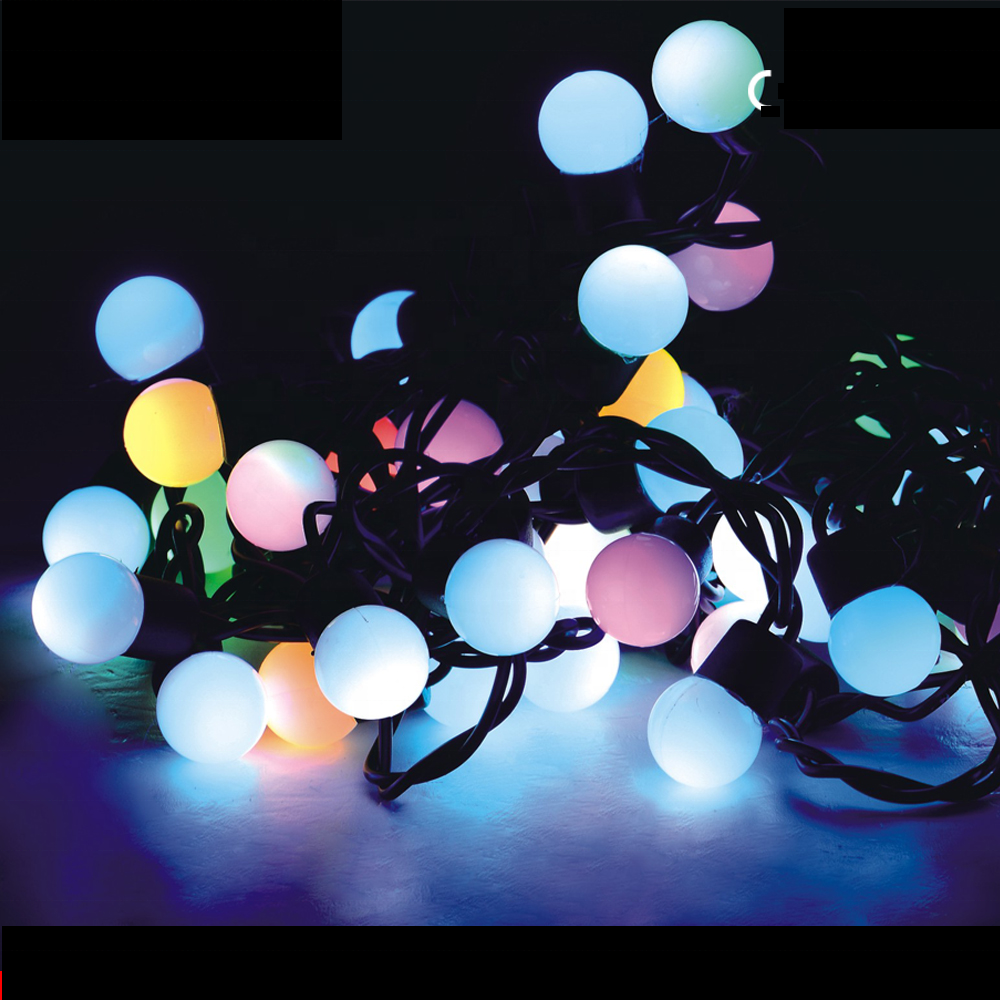 LED ball string light outdoor use led christmas light for decoration