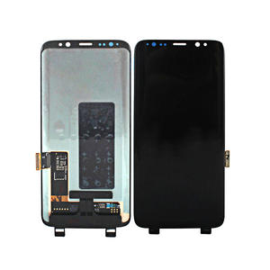 Ecran touch screen LCD für samsung galaxy s8 lcd touch screen mit rahmen