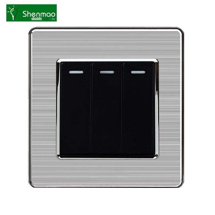 Cepilladora interruptor sellado botón interruptores aire acondicionado interruptor de control