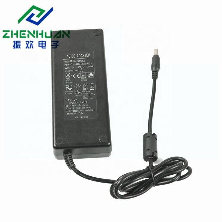 Shenzhen manufacturer power dc 12 volt 10 amp epson 3d printer ac adapter 120watt