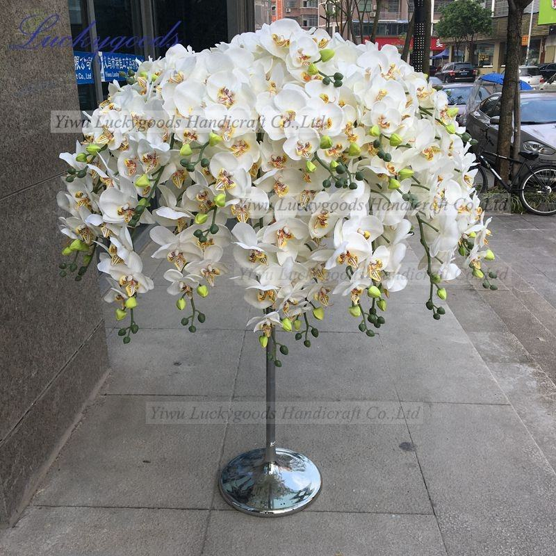 LFB605 factory sale new arrival acrylic flower centerpiece for wedding table center decoration
