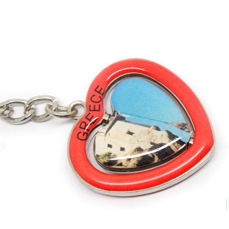 Keychain Mini boxing gloves key chain ring flag key ring cute greece greek