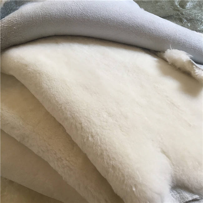 Genuine Sheep Leather Skins Hides Soft fur