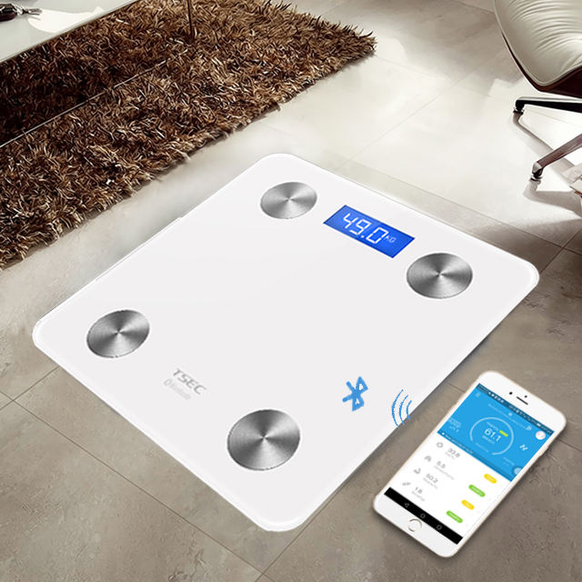 BF8028Health Care Products Digital Electronic Bluetooth Bathroom Personal Weighing Body Fat Promotional Gift Connected BMI Scale
