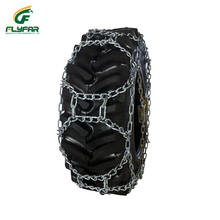 Forklift Tire Protection Snow Chain For Car