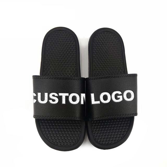 Greatshoe China wholesale sport sandals men slides,new design flat pu men sandals blanks slides footwear men sandals