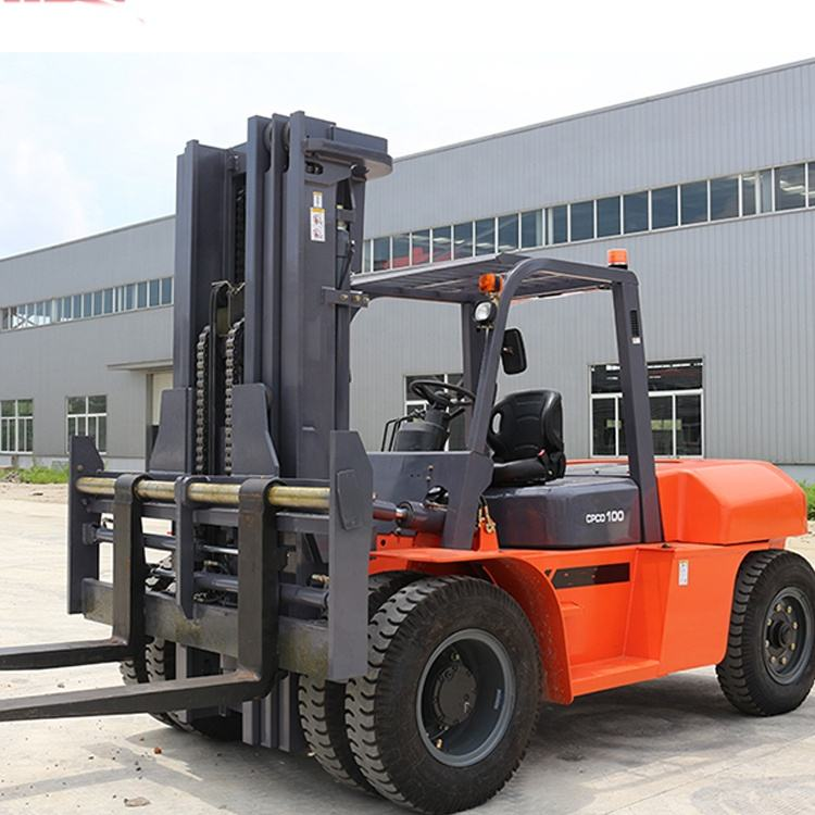 Cheap Diesel Forklift Trucks Machine 10 ton China Manufacture For Sale