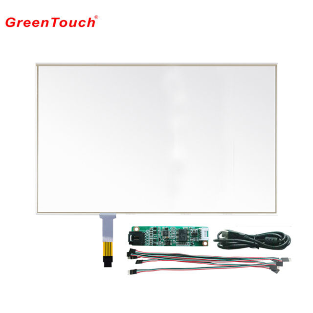Kit painel de tela de toque resistivo de 15 4 polegadas touch screen resistivo