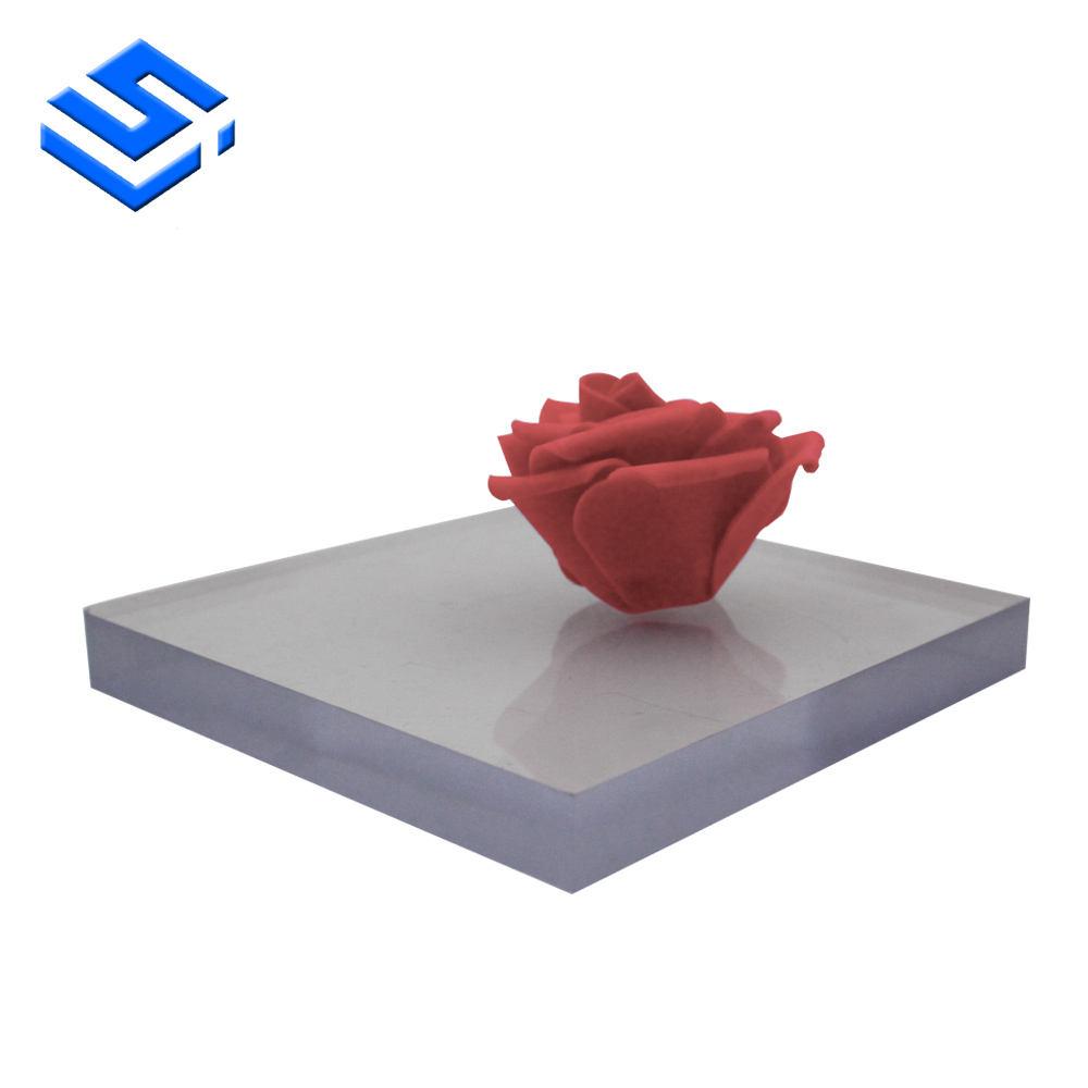 Surface solide en gros prix arc-en-ciel coréen acrylique feuille conception en bois fu sheng utilisant extrusion machine