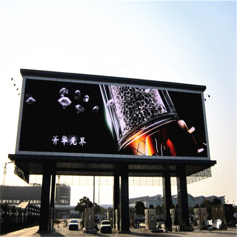 Straat Reclame Panelen Outdoor Pixel 8 Mm Led Display Screen Prijs P8 Outdoor Led