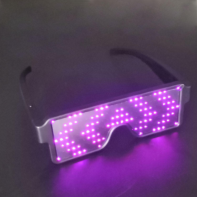 party flashing led glasses luminous eyeglasses assorted rechargeable LED glasses halloween glasses for party decoration