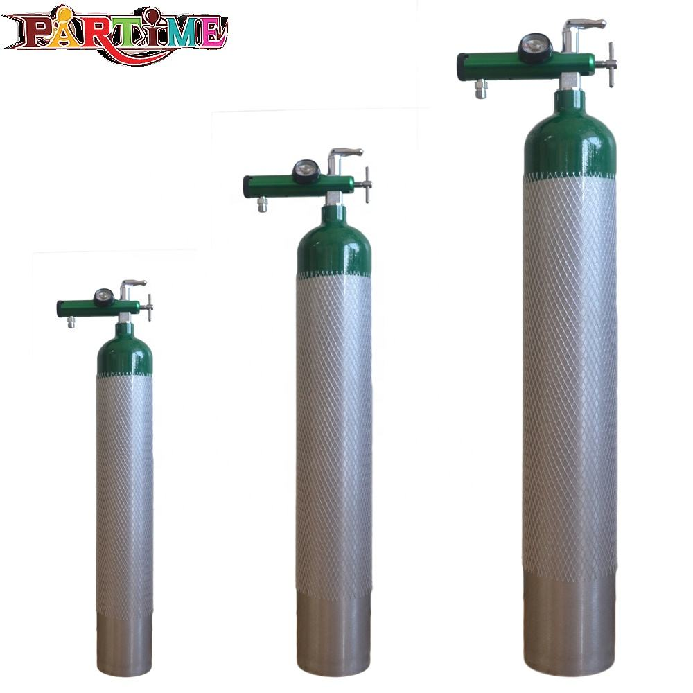 도매 핫 0.6L Food 급 Soda CO2 Aluminium Cylinders