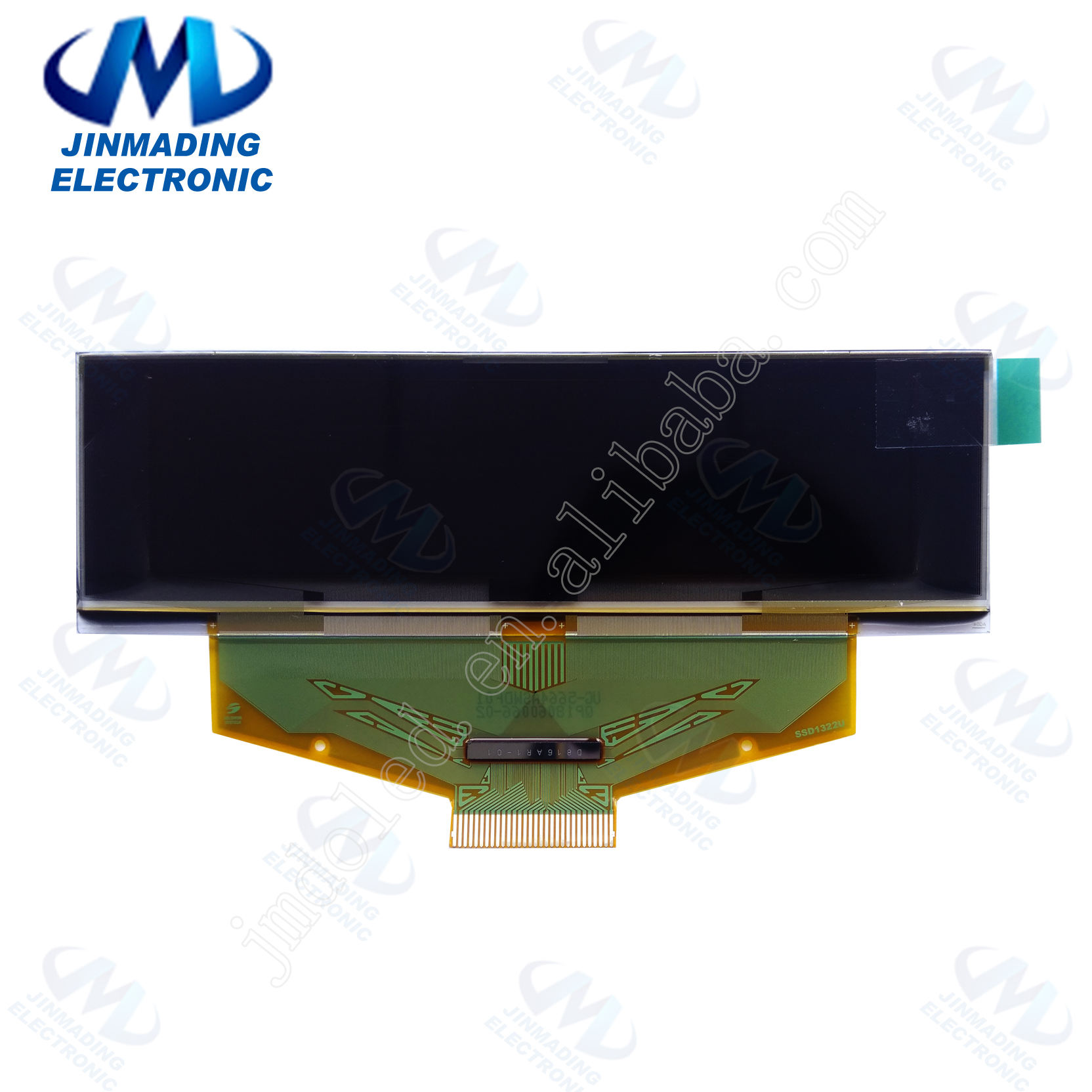 JMD 2.8 inch 256*64 SPI White OLED LCD Screen 8Bit Parallel Interface SSD1322 Drive IC OLED TV
