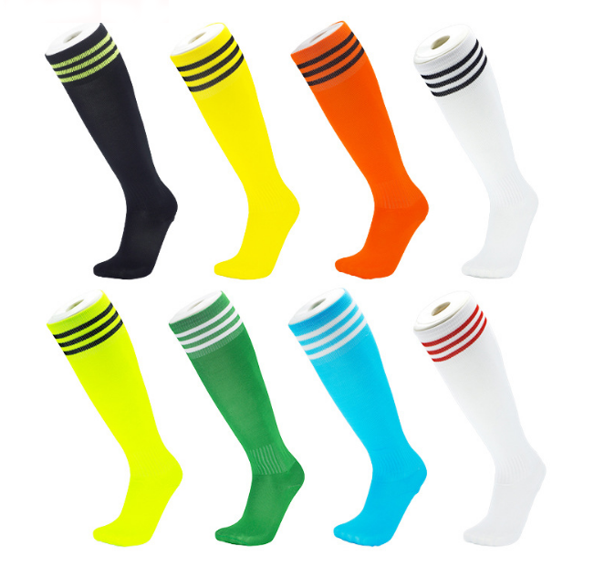 soccer socks anti slip Cotton Team Socks Teens Children Soccer Socks