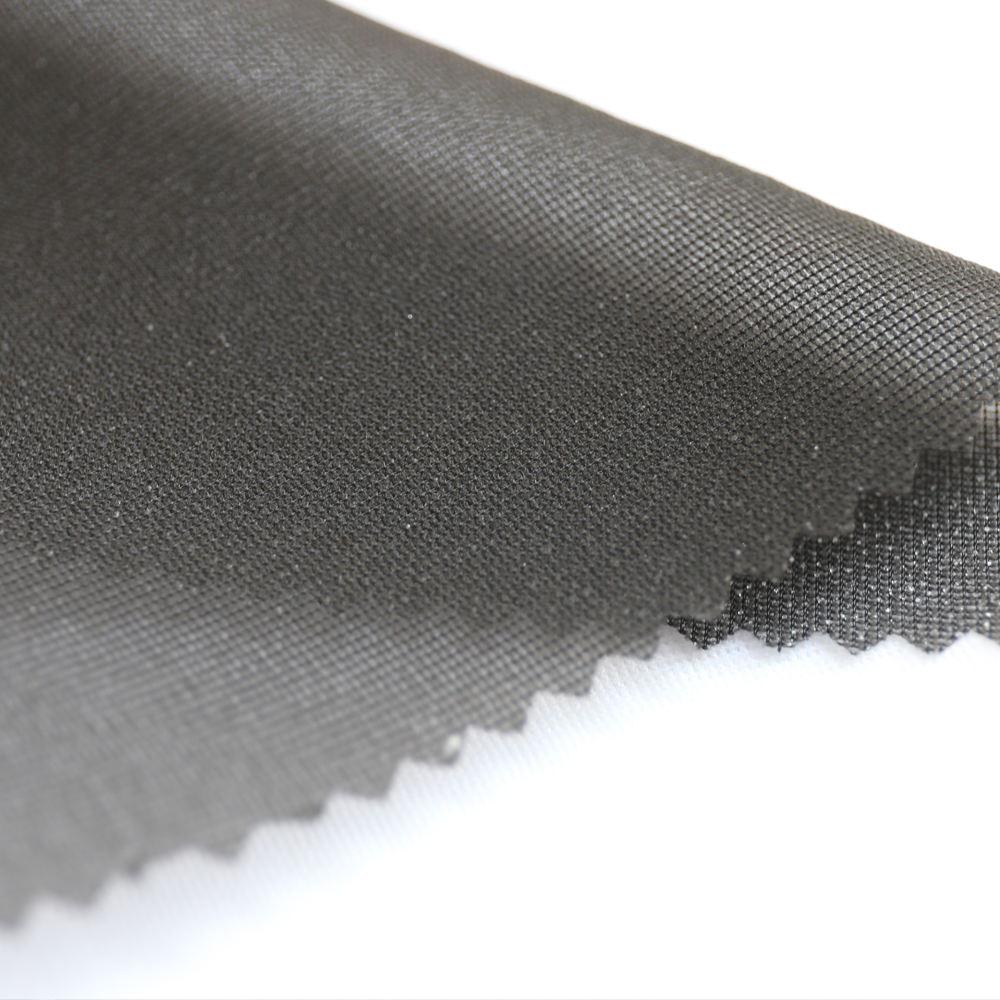 Вискозный материал плавкий трикотаж пряжа полиэстер основа 100% Interlining W282