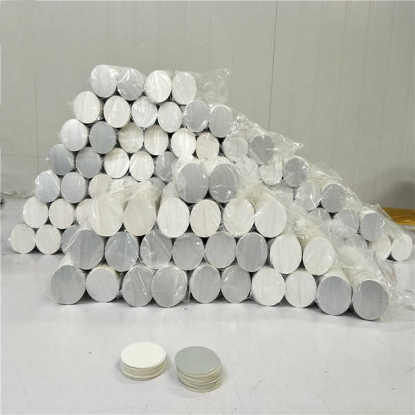 Heat sealing induction aluminium foil easy peel off seals/lids/liners for Bottle Cap