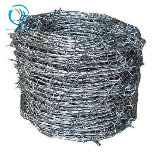 China Factory Direct Sales Hot Dipped Galvanized Barbed Wire pvc coated barbed wire