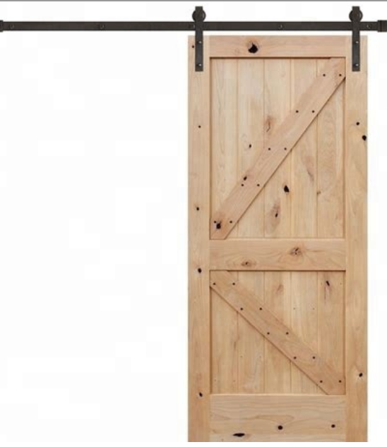 Sliding Barn Door Wheel Rail/Barn Door Hardware Manufacturers/Barn Door Hardware Solid Wooden Door Malaysia