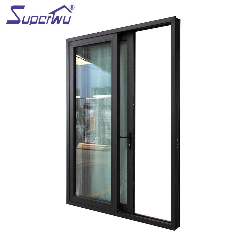 Factory Directly aluminum wood composite door windows and doors dubai sliding for warehouse
