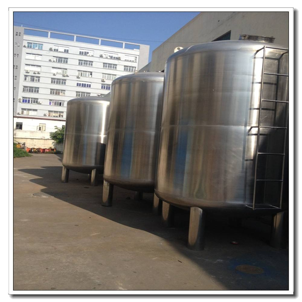500L 304 SS high quality strong 20000 liter water tank for ro water tank of stainless steel water tank