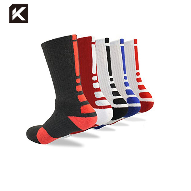 Chaussettes <span class=keywords><strong>elite</strong></span> de basket-ball à personnaliser, collection KT3-A028, vente en gros