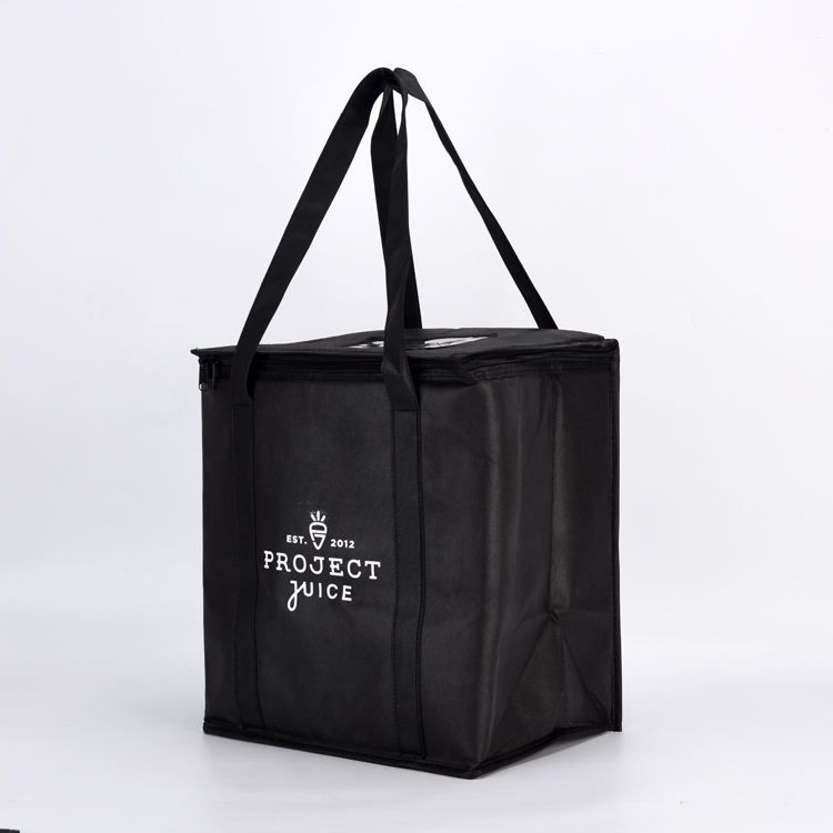 Custom Supermarket Shopping Insulated Cooler Bag for Meat