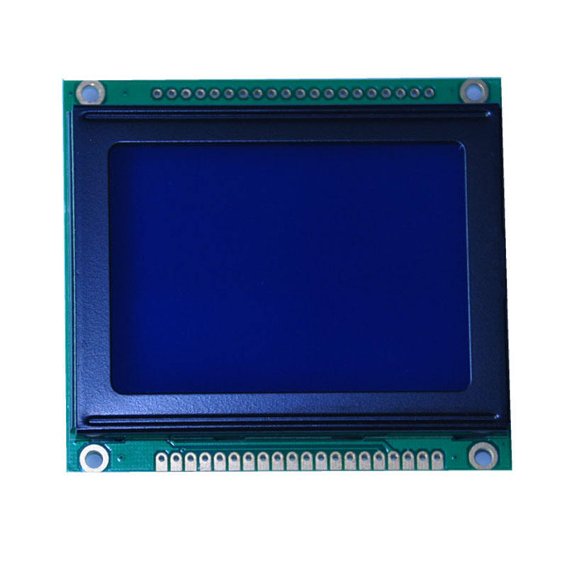 128x64 graphic Negativo retroilluminazione Blu del display LCD