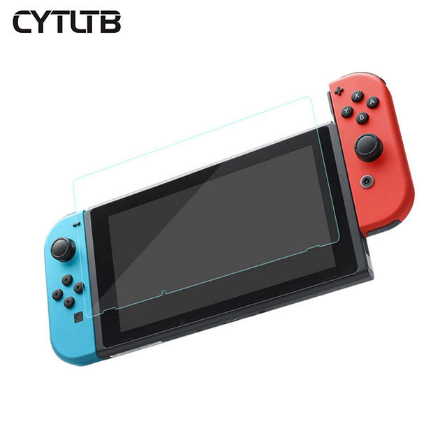 For Nintendo Game Player Screen Protector 9H Switch Anti Scratch Smooth Touch Game Player Tempered Glass Screen Protector